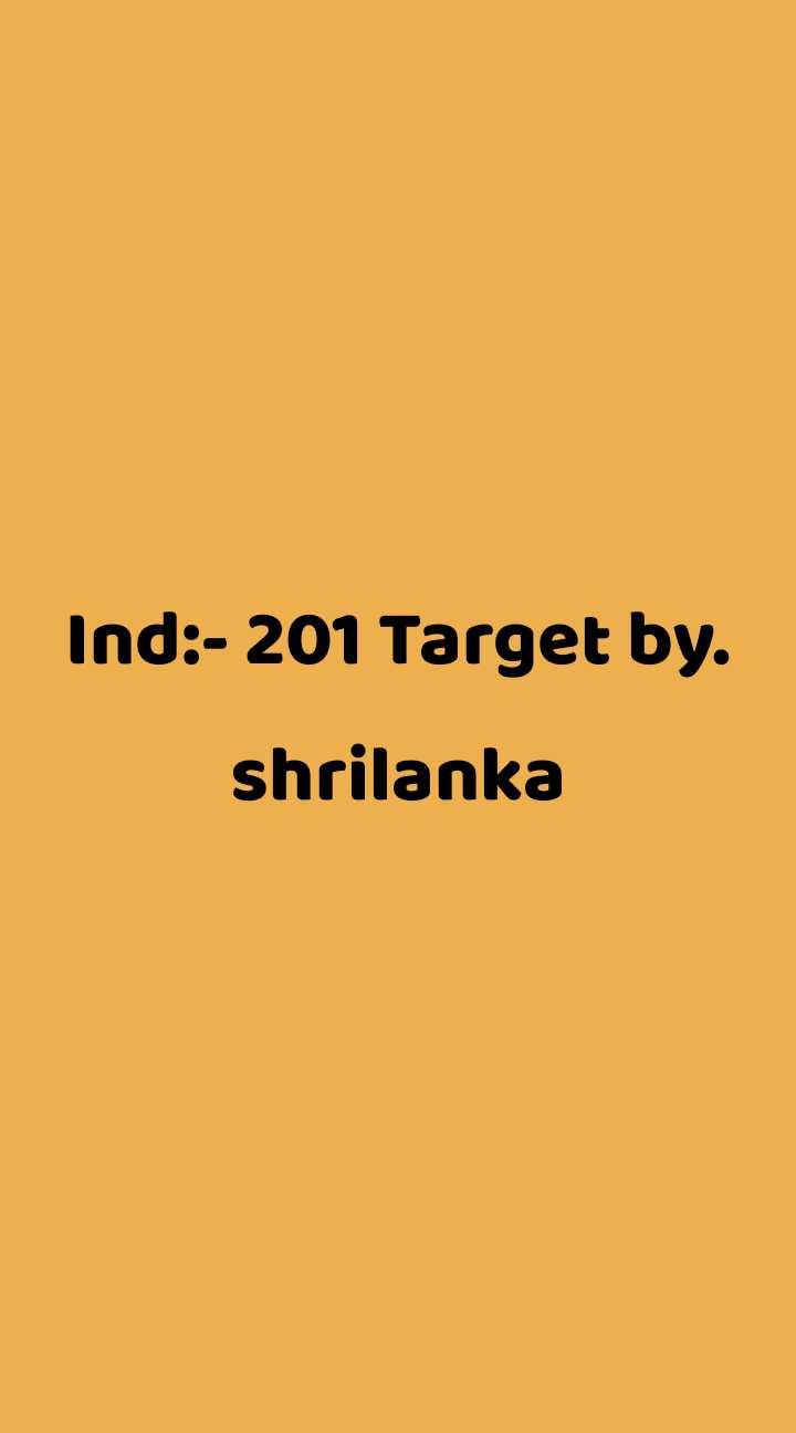 🏏Ind vs SL T20 - ShareChat