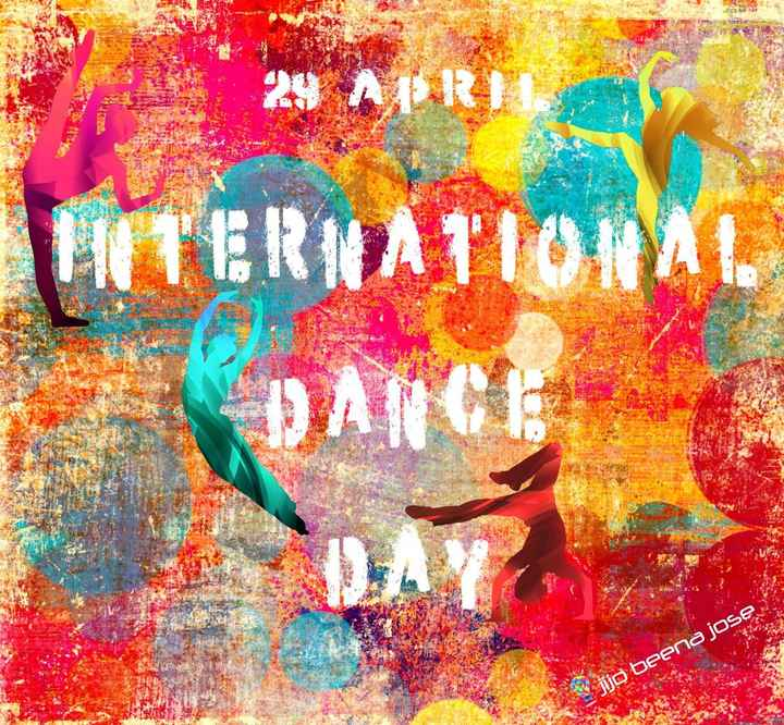 International Dance Day - 24 APRIL INTERNATIONAL Obeena OSE - ShareChat