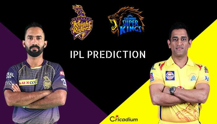 💜 KKR vs CSK 💛 - RIAL Knight CHENNAI SUPER KINGS Riders IPL PREDICTION Gute Luxcod Cricadium - ShareChat
