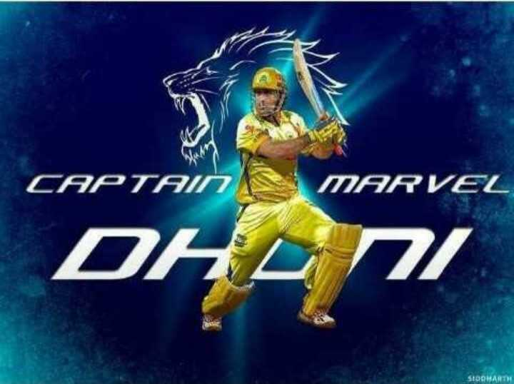 🏏 KKR 🖤 vs CSK 💛 - CAPTAIN MARVEL DHL / 7 $ 100HARTH - ShareChat