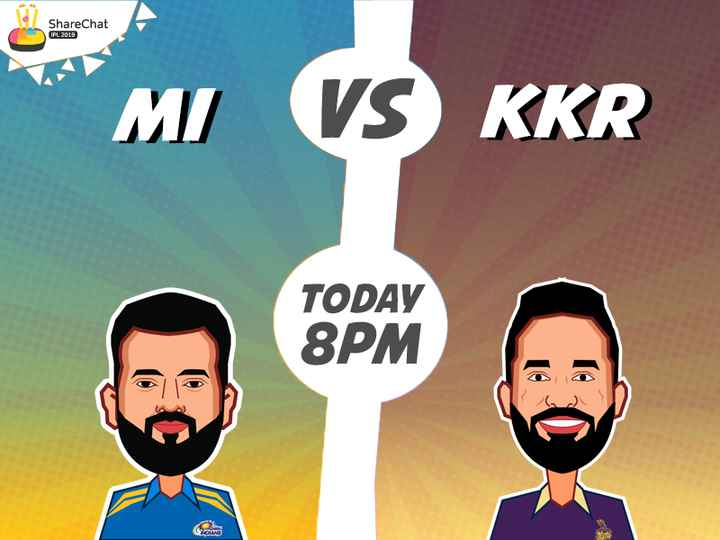 🏏KKR vs MI - ShareChat