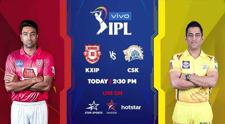 🏏KXIP vs CSK - vivo > IPL KINGS * XI Va பால SUPER KINGS Jio KXIP CSK TODAY 2 : 30 PM LIVE ON ☆ hotstar hotstar STAR SPORTS SterGOLD RIRIA - ShareChat