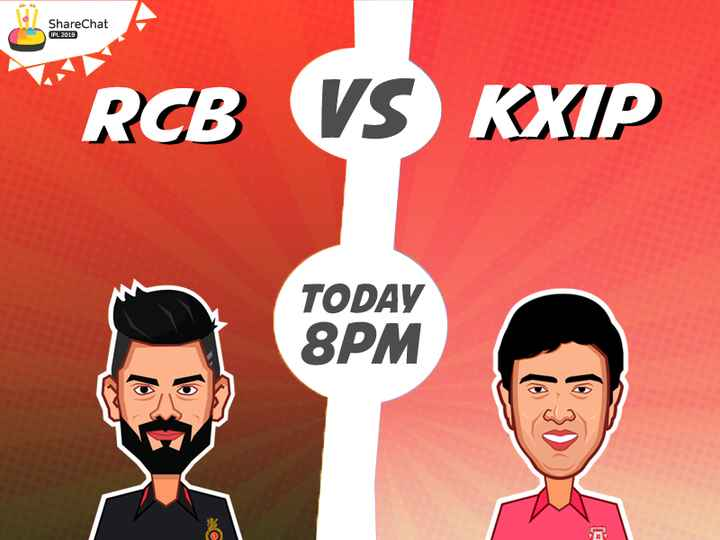 KXIP vs RCB - ShareChat