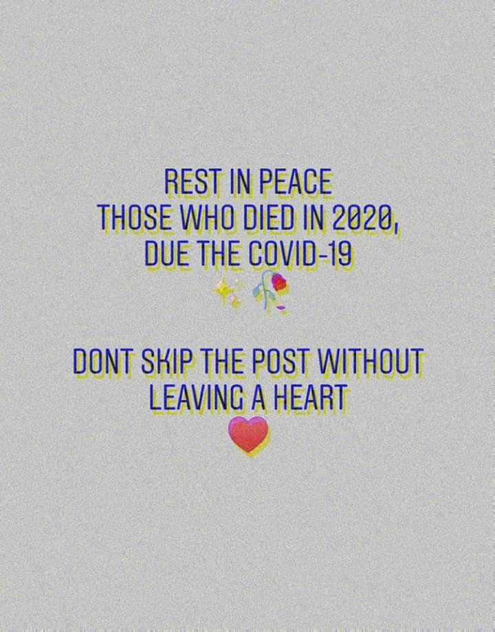Kolkata will fight corona✊🏻✊🏻 - REST IN PEACE THOSE WHO DIED IN 2020 , DUE THE COVID - 19 DONT SKIP THE POST WITHOUT LEAVING A HEART - ShareChat