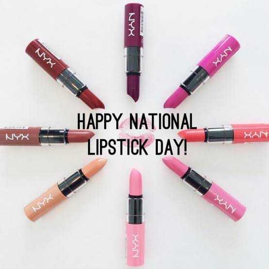 💄 Lipstick தினம் - NYX XUN NYX HAPPY NATIONAL LIPSTICK DAY ! XAN - ShareChat