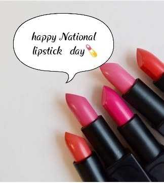 💄 Lipstick தினம் - happy National lipstick day - ShareChat