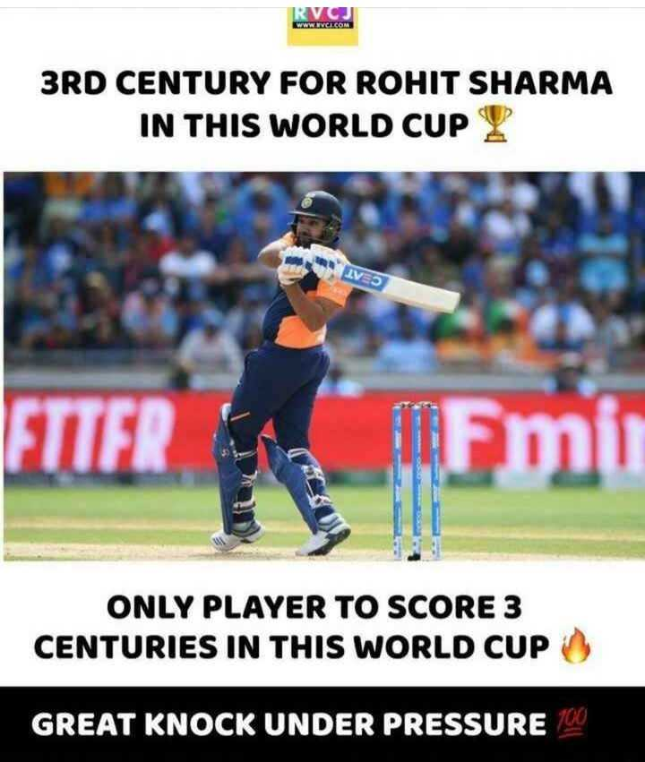 🔴Live Score IND vs ENG - 3RD CENTURY FOR ROHIT SHARMA IN THIS WORLD CUP 2 LV5 FTTER Timu ONLY PLAYER TO SCORE 3 CENTURIES IN THIS WORLD CUP GREAT KNOCK UNDER PRESSURE 100 - ShareChat