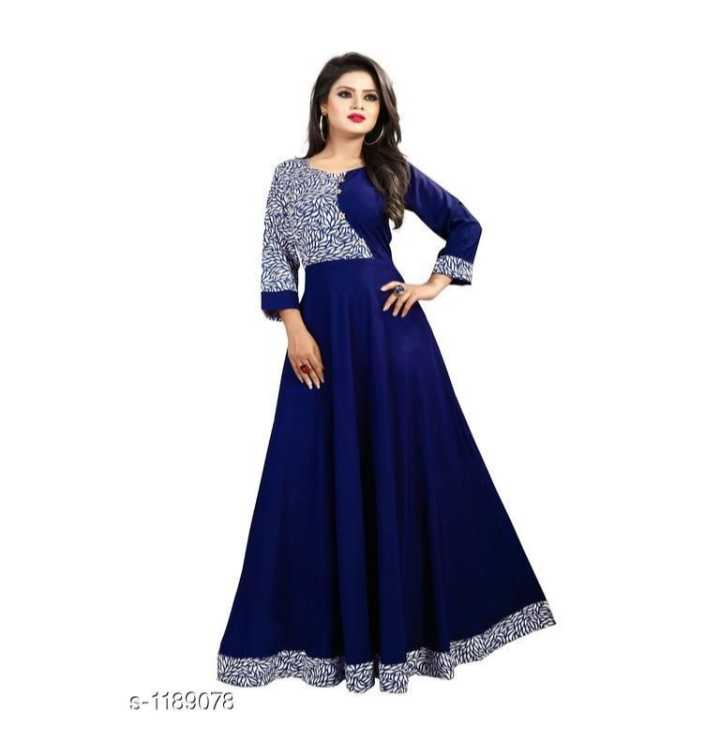 Long Dresses - - 113073 - ShareChat