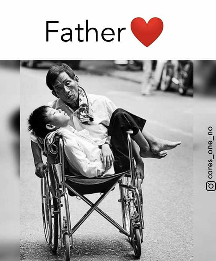 Love You Papa 👪 - Father cares _ one _ no - ShareChat