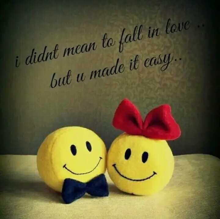 💖 Love You - i didnt mean to fall in love . but u made it easy . . . - ShareChat