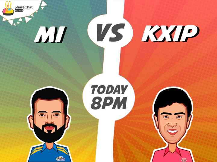 MI vs KXIP - ShareChat