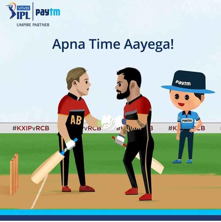 🔵 MI vs RCB 🔴 - Vivo 31PL Paytm UMPIRE PARTNER Apna Time Aayega ! Paytm AB Paytm # KXIPVRCB VRCB MB # K - ShareChat