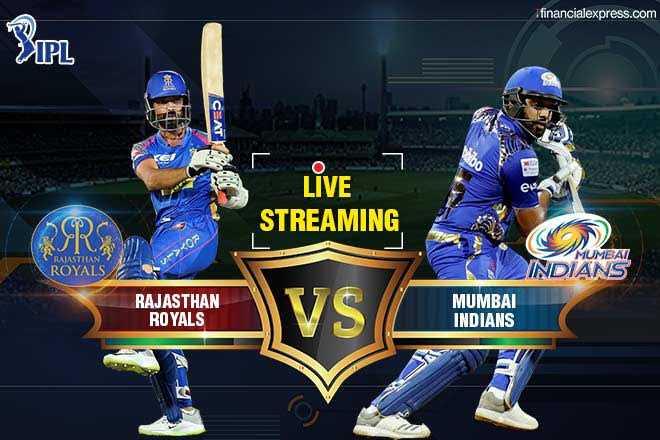 MI vs RR - financialexpress . com IPL CEAT bo LIVE STREAMING RAJASTHAN / - > OR ROYALS MUMBAI INDIANS MUMBAI INDIANS RAJASTHAN ROYALS RAJASTHAN V S MUMARAS - ShareChat