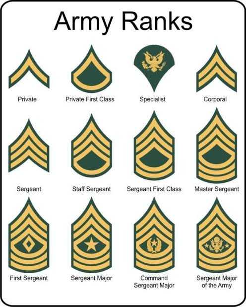 💼MPSC - Army Ranks Private Private First Class Specialist Corporal Sergeant Staff Sergeant Sergeant First Class Master Sergeant First Sergeant Sergeant Major Command Sergeant Major Sergeant Major of the Army - ShareChat