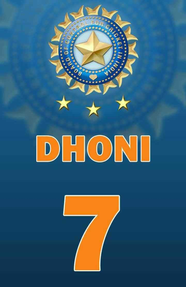 🏆MS धोनी - BOARD CO DHONI NDIA CAIC VINIS - ShareChat