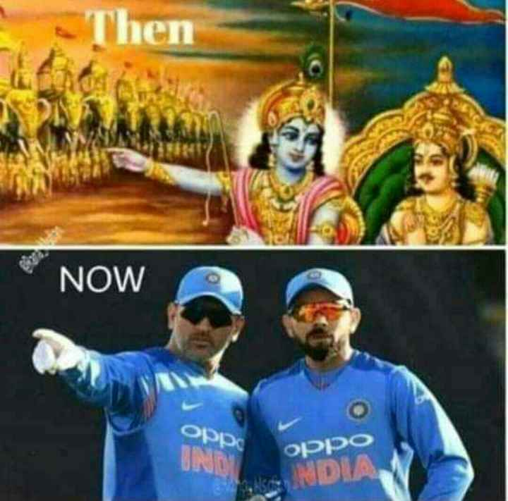 🏆MS धोनी - Then NOW орро oppo - ShareChat