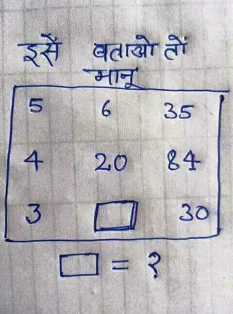 Maths Magic - How बताओ तो 6 5635 4 - 2084 3030 - ShareChat