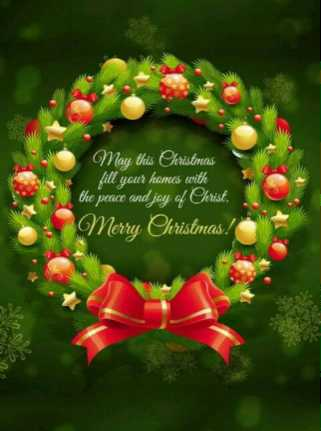 🎅Merry Christmas🎄 - May this Christmas fill your homes with the peace and joy of Christ . Merry Christmas ! JU - ShareChat