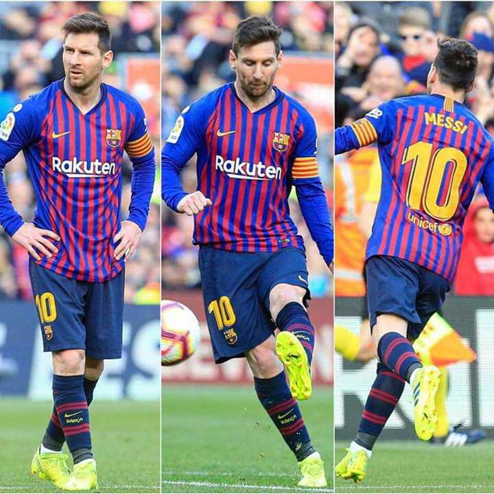 😍 Messi Fans - Rakuten Rakuten Unicef - ShareChat