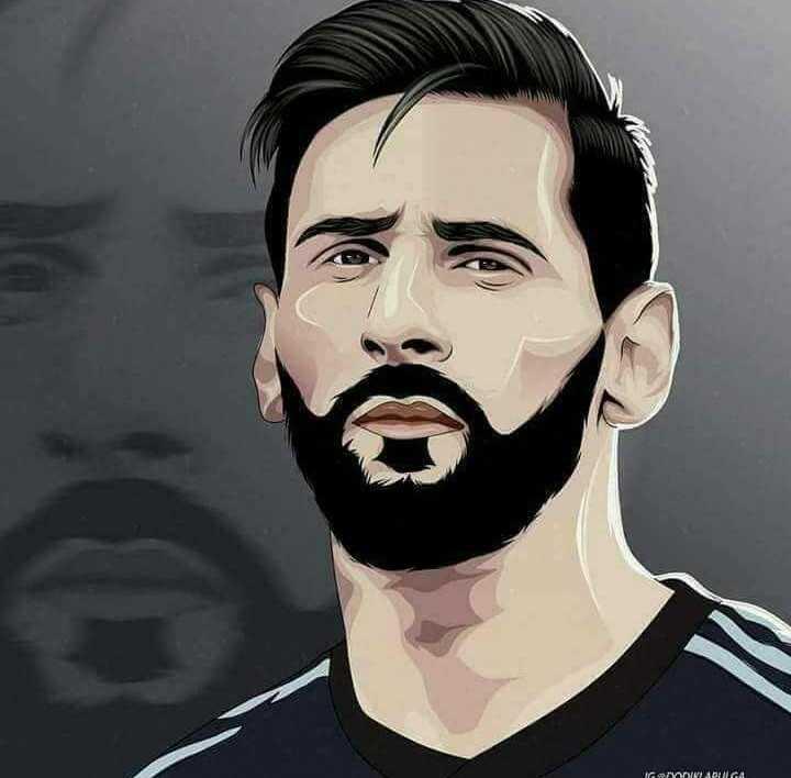 😍 Messi Fans - IGINAPULICA - ShareChat
