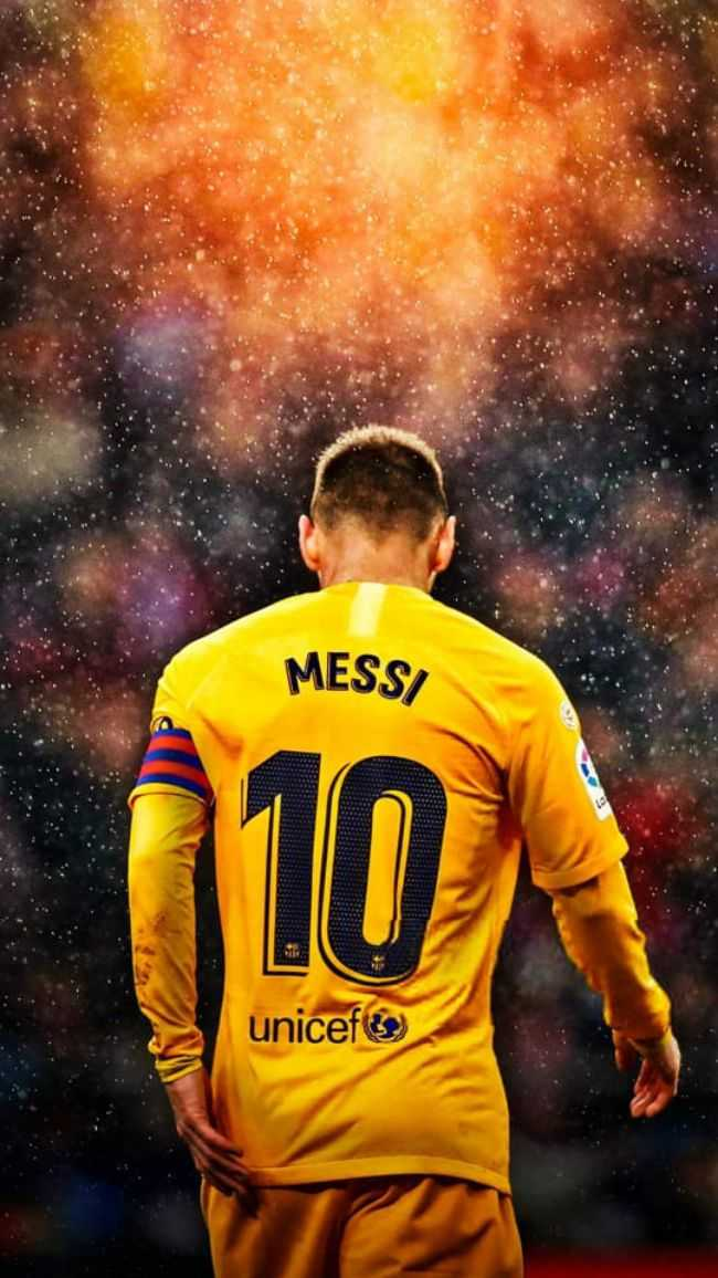 😍 Messi Fans - MESS / unicef - ShareChat