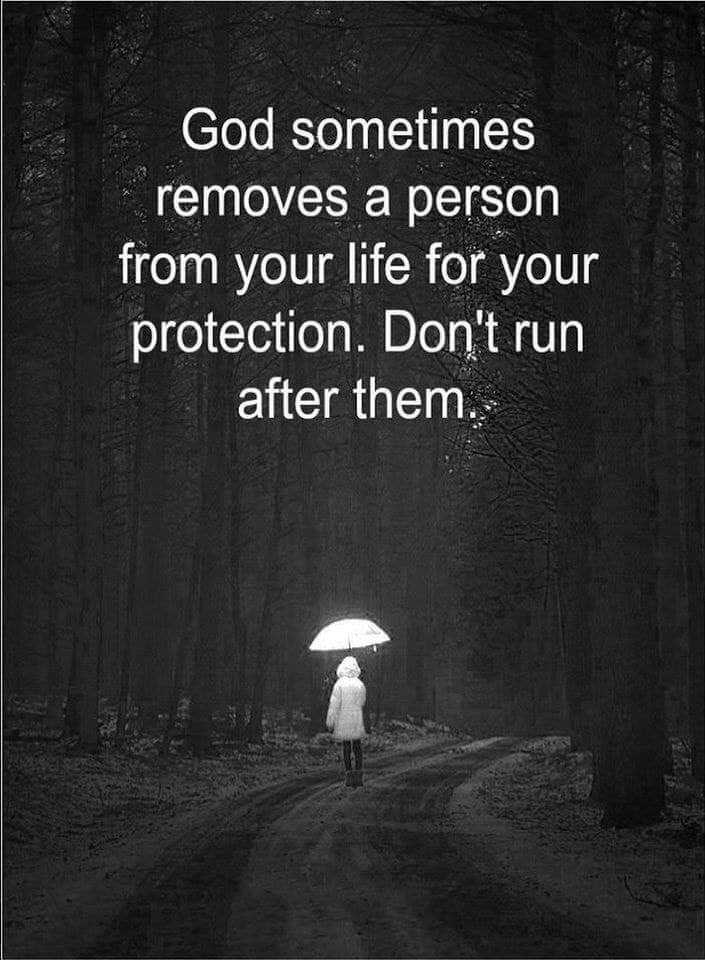😢 Miss you - God sometimes removes a person from your life for your protection . Don ' t run after them . - ShareChat
