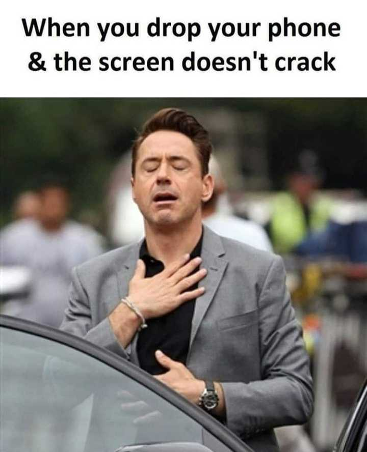 Mobile Lover - When you drop your phone & the screen doesn ' t crack - ShareChat