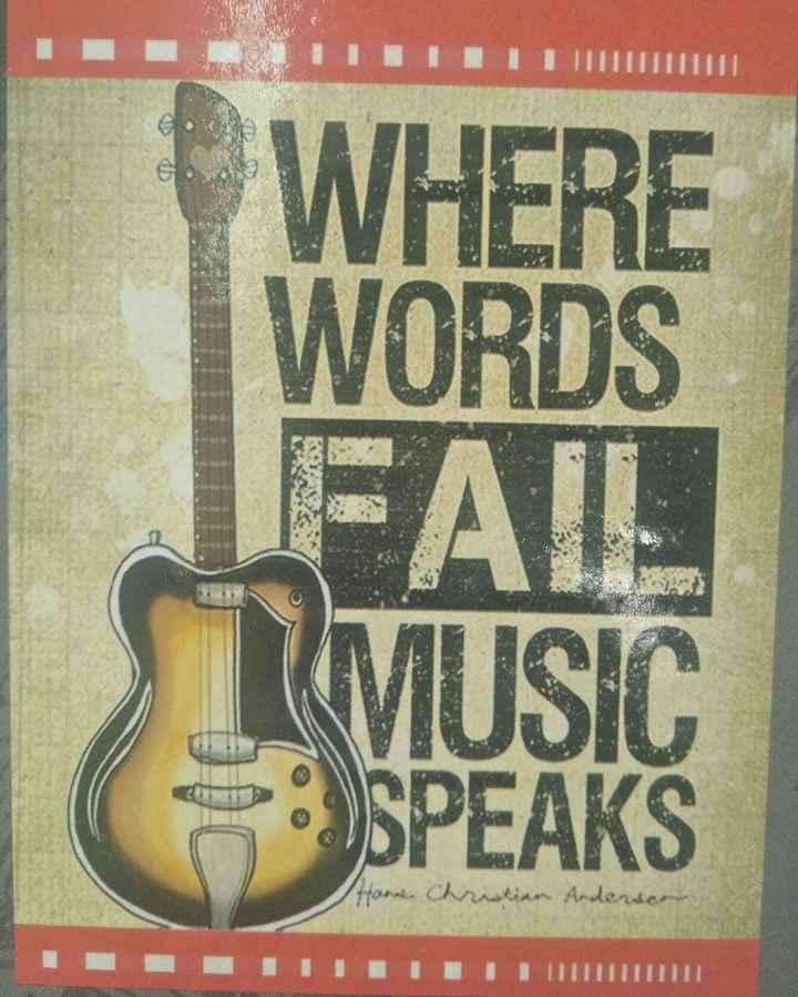 Music lovers - LIITTTTTT WHERE WORDS 3 2 FAIL MUSIC SPEAKS Hann Christian Andersen IIIIIIIIII - ShareChat
