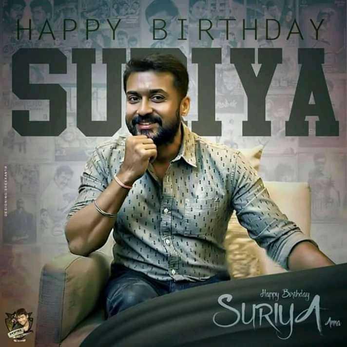 🤝My dear சூர்யா - HAPPY BIRTHDAY SUSIYA Happy Bythday Surya . - ShareChat