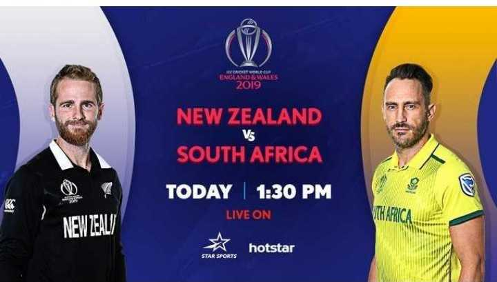 🏏NZ vs SA - RECCION WORLD ENGLAND & WALES 2019 Vs NEW ZEALAND SOUTH AFRICA TODAY | 1 : 30 PM LIVE ON NEW ZEALA ☆ hotstar STAR SPORTS - ShareChat