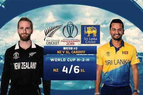 🏏NZ vs SL - NEW ZEALAND ENGLAND & WALES Sri Lanka CRICKET Cricket 2019 MATCE # 3 NZ V SL , CARDIFF WORLD CUP H - 2 - H Tea SRI LANKA NEW ZEALAN NZ 4 / 6 SL - ShareChat