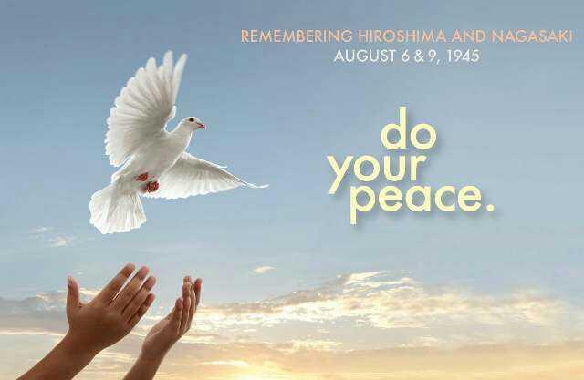 🕊Nagasaki Peace Day☮ - REMEMBERING HIROSHIMA AND NAGASAKI AUGUST 6 & 9 , 1945 do Your peace . - ShareChat