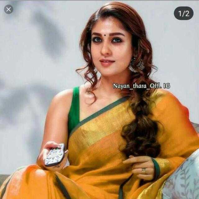 Nayanthara - 1 / 2 Nayan _ thara Ofi . IG - ShareChat