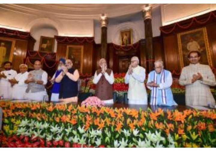 🗞 PM मोदी का संसदीय दल को संबोधन - ShareChat