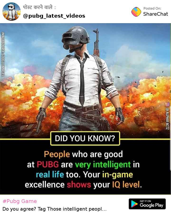 PUBG Latest Videos - Author on ShareChat - Videos May