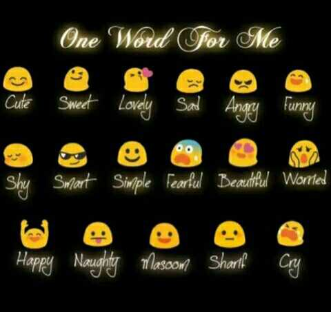 Puthirukal - One Word for Me Cute Sweet Lovely Sad Angry Funny Shy Smart Simple Fearful Beautiful Worried Happy Naughty Mascom Sharl - ShareChat