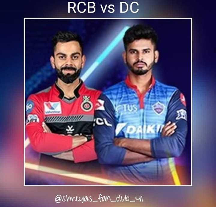 RCB vs DC - RCB Vs DC @ shreyas _ fan _ club _ 41 - ShareChat