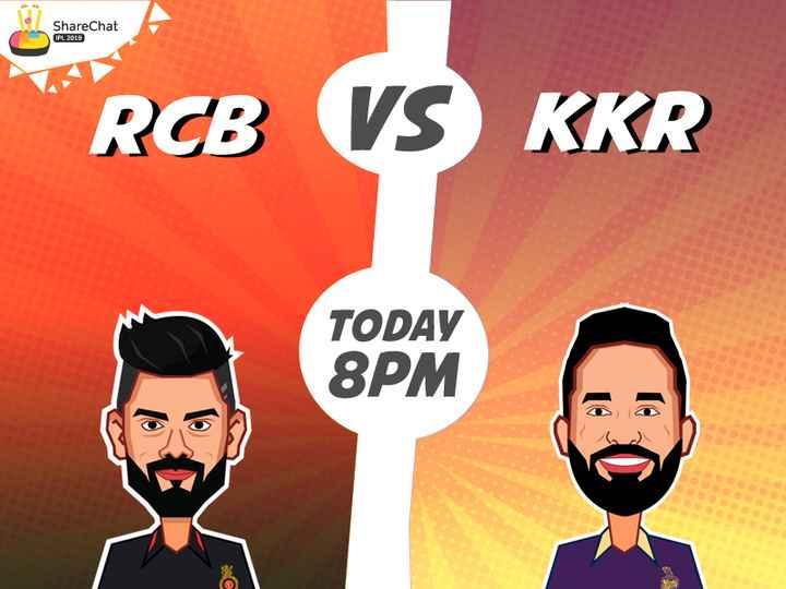 RCB vs KKR - ShareChat