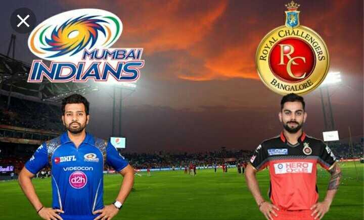 RCB vs MI - ALLENG OYAL C MUMBAI INDIANS BANG INGALORE LORE DIFL VIDEOCON ( d2h - ShareChat