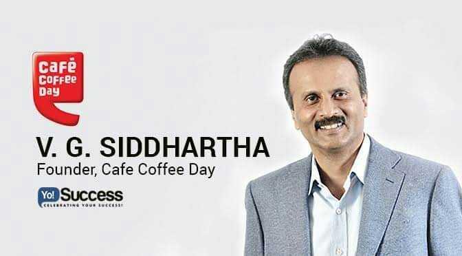 🙏 RIP ವಿಜಿ ಸಿದ್ಧಾರ್ಥ್ - Café Coffee Day V . G . SIDDHARTHA Founder , Cafe Coffee Day Yo ! Success а звоняти , а LEBRATING YOUR ECCESE - ShareChat