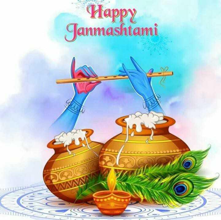 RPATIL - Happy Janmashtami CAODDDDD DOG W - ShareChat