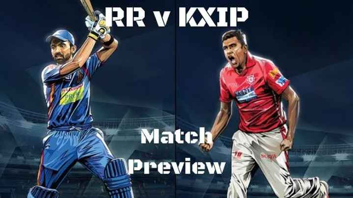 🏏 RR 💜 vs KXIP 💗 - CARR v KXIP Match Preview - ShareChat