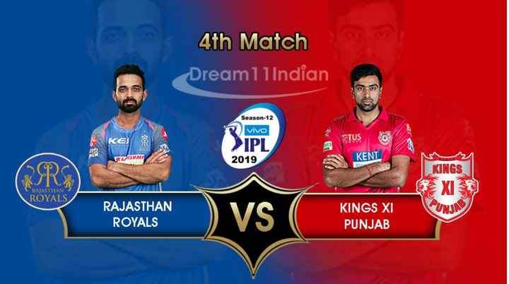 🏏 RR 💜 vs KXIP 💗 - 4th Match Dream1lIndian Season - 12 Vivo STUS > IPL 2019 RESNMT KENL KINGS SEXI RAJASTHAN ROYALS RAJASTHAN ROYALS ) vs KINGS XI PUNJAB - ShareChat