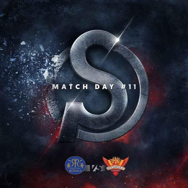 🏏RR vs SRH - MATCH DAY # 11 UURISER RAJASTHAN ROYALS - ShareChat