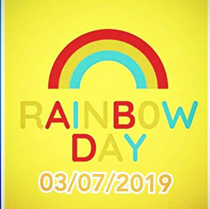 🌈Rainbow डे - RAINBOW DAY 03 / 07 / 2019 - ShareChat