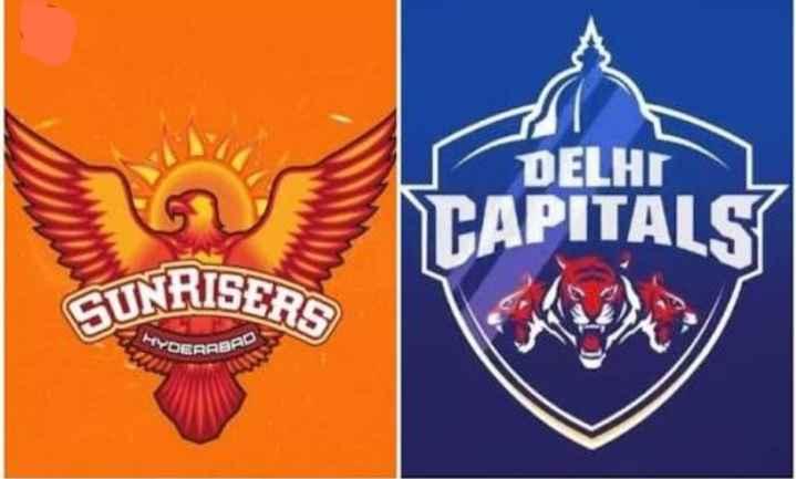 🏏 SRH 🔶 vs DC 🔷 - E DELHI TAPITALS GUNRISERS YOEBAB - ShareChat