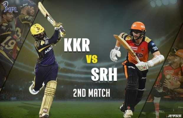 SRH vs KKR - PIPL KKR VS SRH 2ND MATCH जनसता - ShareChat