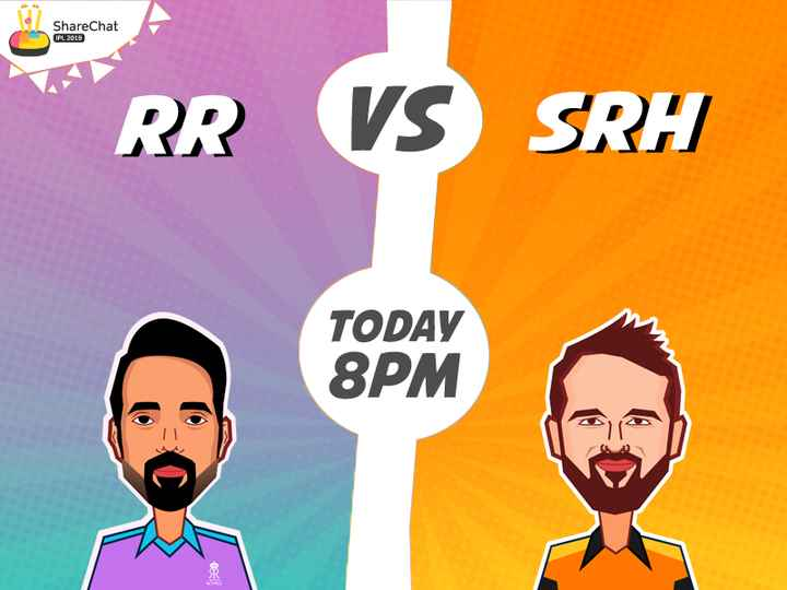 🏏SRH vs RR - ShareChat