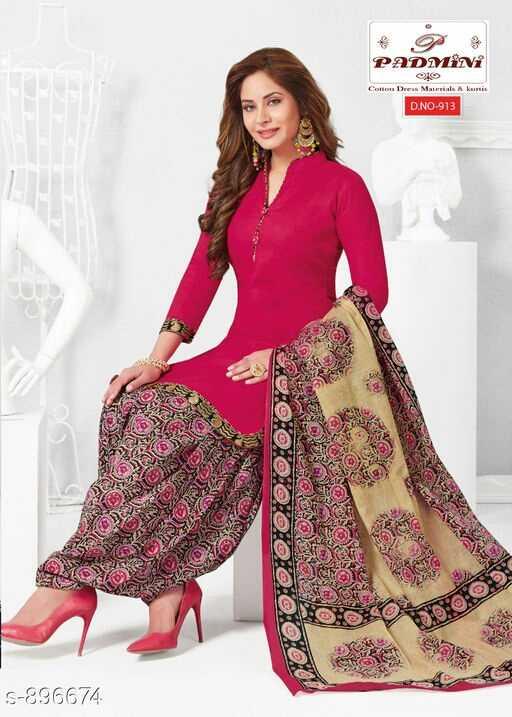 Salwar Suits - PADMiNi lo Dres Materials & D . NO - 913 ARE N SC KUCOS See HOROS PO 5 - 896674 - ShareChat