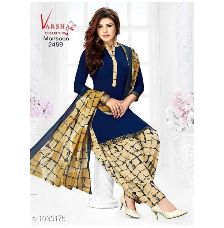 Salwar Suits - VARSHA COLLECTION Monsoon 2459 S - 1030175 - ShareChat